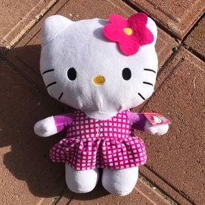 NWT Jumbo Sanrio Hello Kitty Plushie